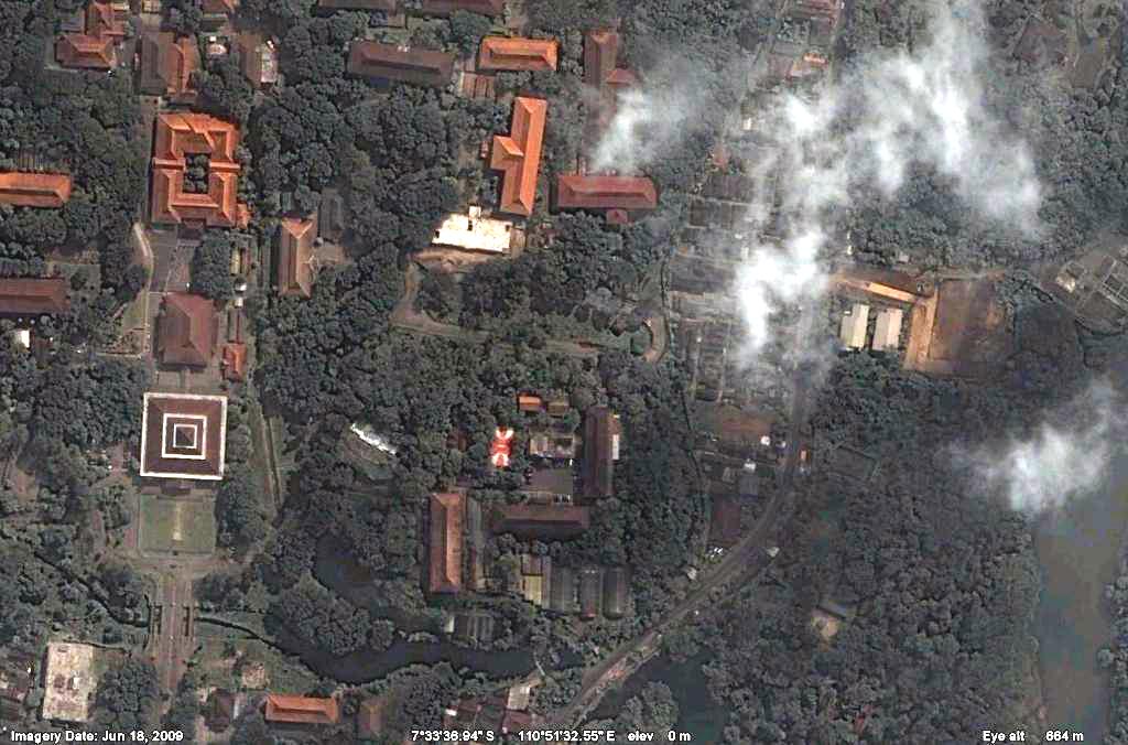 ini, Google telah mengupdate image di Google Earth dan Google Maps