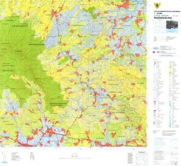 Peta Rupa Bumi Indonesia (Kuliah Sistem Informasi Sumberdaya Lahan)